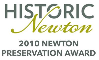 Historic Newton Preservation Award